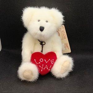 "Boyds Bears ""Ido Loveya"" Valentine Bear"